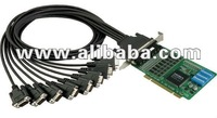 8-port RS-232/422/485 Universal PCI Serial Boards