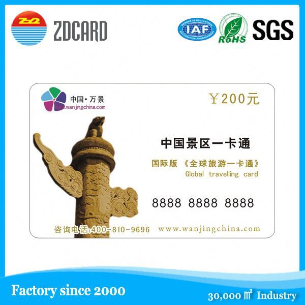 Iso14443A Rfid Nfc Card With 2D Barcode For Cashless Payment