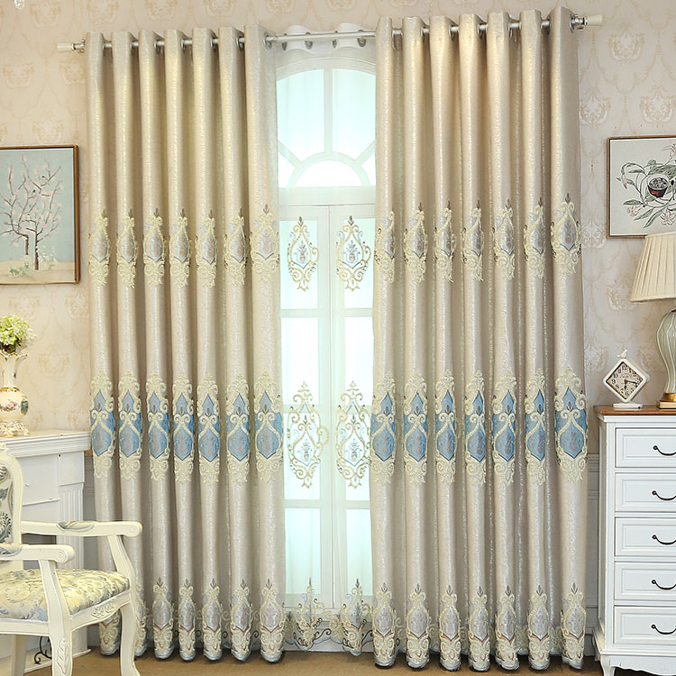 Luxury window treatments french doors cafe panel curtains