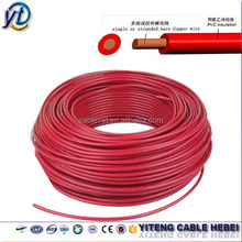 IEC standard CE cert electrical building wire/ electrical house wiring materials