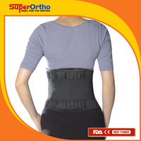 Lumbar Support Belt-- A5-064 Soft Back Support w/ Spiral Stays
