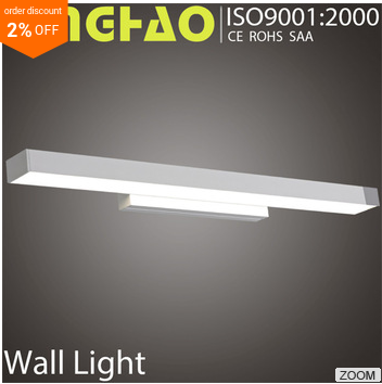 Light uniformity whthout shadows interior led stair wall light