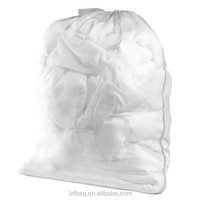 mesh laundry bag promotional drawstring bag