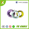 Roll length 305/610 meters fiberglass braided silicone rubber electric resistance wire heating