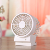 5 Inch Dual Motor DC5V Table adjustable Small Fan For Laptop