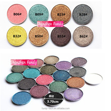 High pigmented 36mm eyeshadow OEM single eyeshadow 72 colors Diamond eyeshdow