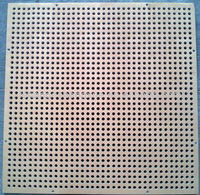 Micro hole perforated mesh acoustic panel