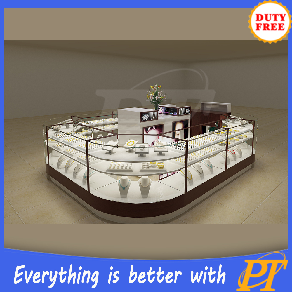 China Factory Directly Sell Furniture Showcase For Jewelry