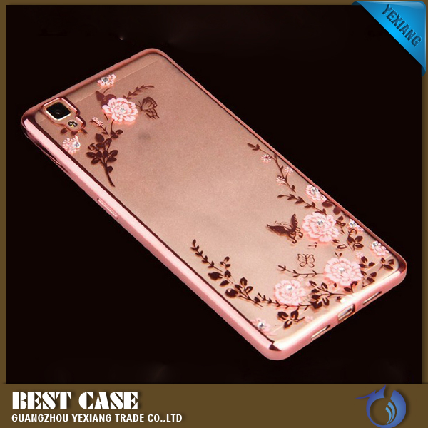 Secret Garden Tpu Back Cover Diy Phone Case Cover For Oppo f1 A35