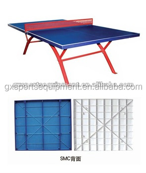Outdoor SMC waterproof Table tennis table