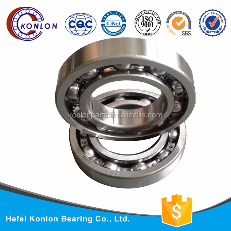 Konlon New arrival different size 6321-RS plastic ball bearing