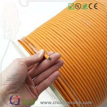 Hot Sale EIA/TIA Orange CCA 305m/500m 5mm OD 24AWG T568A Individual Shielded Cat5 LAN Cable for Panduit