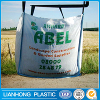 1 ton jumbo bag for 1 ton 1.5 ton sand/agriculture bag, jumbo PP bulk container bag, cement packaging pp jumbo bag