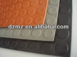Round Dot Non-slip SBR Rubber Sheet / Mat / Floor