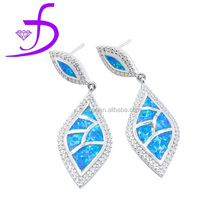 2015 New style fashion design middle east style opal set opal earrings