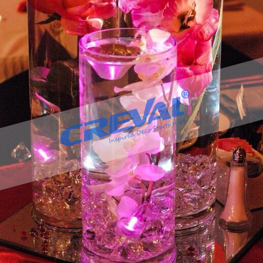 Wholesale submersible flameledd led tea light for wedding favors candle
