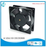 120x120x38mm AC Axial Fan,Metal Impeller