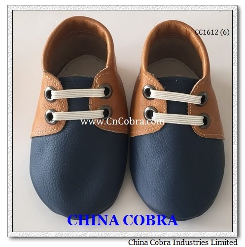 soft sole genuine leather infant walking shoes