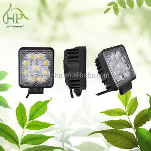 2014 new design ip67 epistar 27W led work light led truck light
