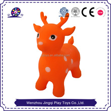 Non-toxic Soft PVC Inflatable bouncing animal toy