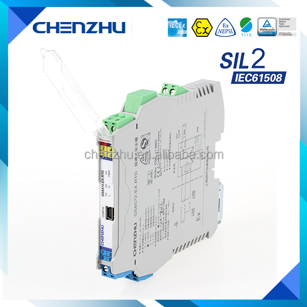 CHENZHU GS8572-EX.RTD Hot sale Industrial intrinsically safe barrier