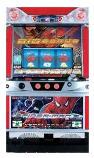Slot machine SPIDER MAN 3 (RED) popular game!!Setting key free!!EXW Price