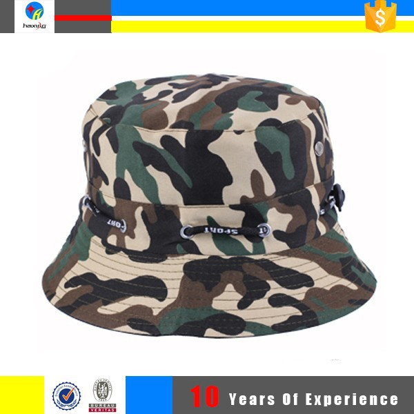 custom fishing mens bucket hat