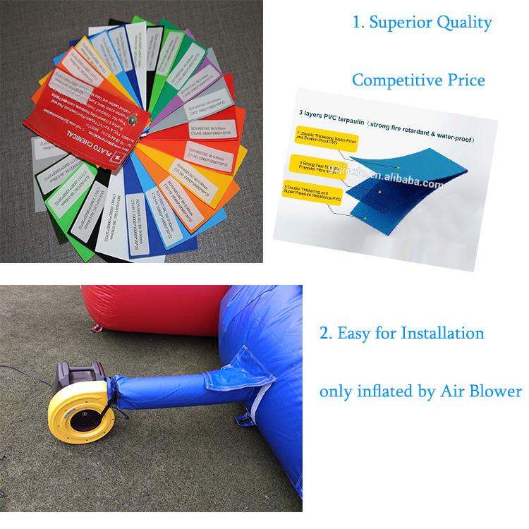 All In One Sports Arena Inflatable Bouncer Backyard Combi Sport Game Court Twister Joust Poles Bouncy Jumping Bounce House