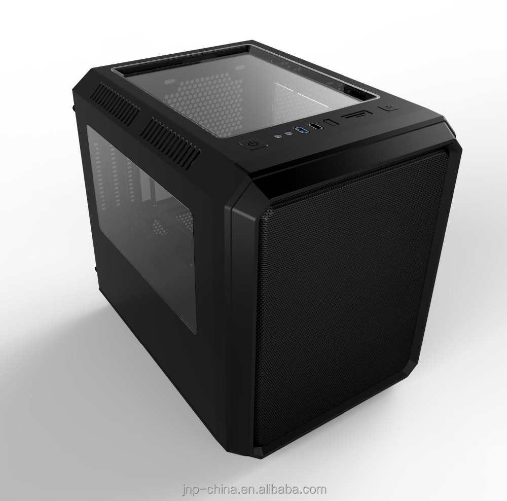 Factory Supply Cube Micro ATX PC Case/ Mini ITX Computer Gaming Case