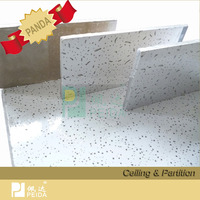 60x60 Mineral Ceiling Tiles For Interior Decoration