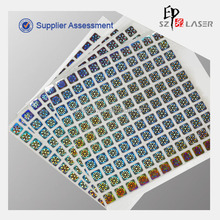 Anti Counterfeit Security Holographic Labels, Adhesive Holo Label Stickers