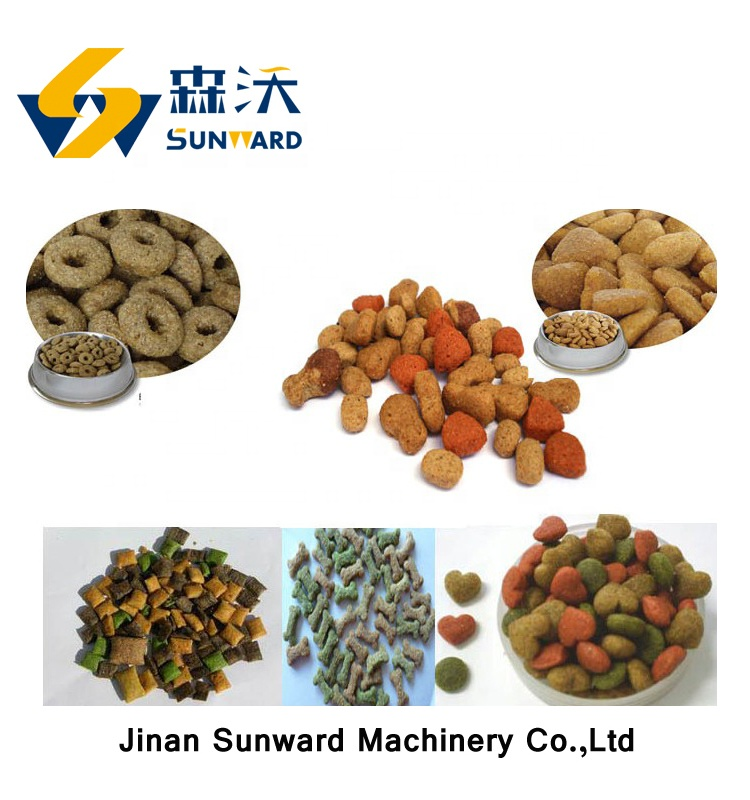 High efficient small kibble dog food machine with factory price