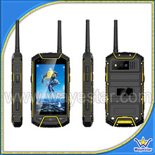 Rugged smartphone android 3g gps dual sim new china mobile Android dual sim PTT Handphone