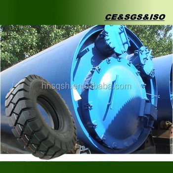 Newest design waste tire pyrolysis plant with enveronmental protection