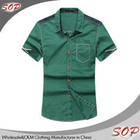 Slim fit shirts wholesale western quick dry shirt
