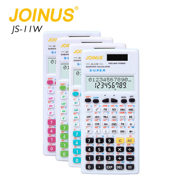 JOINUS Promotional Factory Price Multifunction Colorful Custom 12 Digits Electronic Home Mini Student Scientific Calculator
