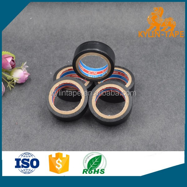 insulated adhesive tape 0f ROHS listed Electrical Vinyl PVC like VINI DENKA TAPE