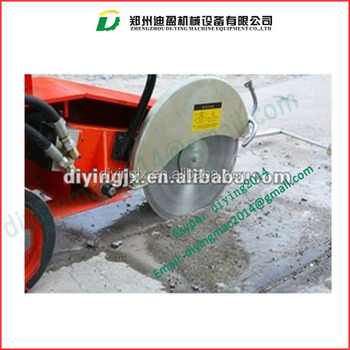 automatic cutter road cutting machine/Asphalt Road Cutting Saw Machine/Road Cutting Machine