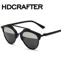 Polarized So Real New Double-Deck Alloy Frame Bridge Sunglasse