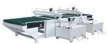 Double curtain coating machine