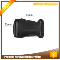 Guangdong OEM factory price nylon belt buckle