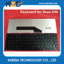 Factory direct laptop keyboard for Asus K50 K50AB K60 N50 G70 English US layout keyboard