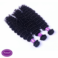 Grade 8A Hair Extensions Double Drawn Weft Cheap Deep Wave Malaysian Hair