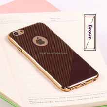 Mobile Accessories Hard PC Leather Back Cover Case for iPhone 7 7 Plus