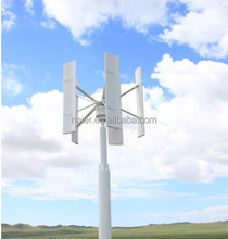 2kw high performance vertical axis silent wind generator/wind turbine prices