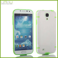 New arrival PC+tpu noctilucent Back Cover case For samsung galaxy s4 i9500 s 4 S IV mobile phone case