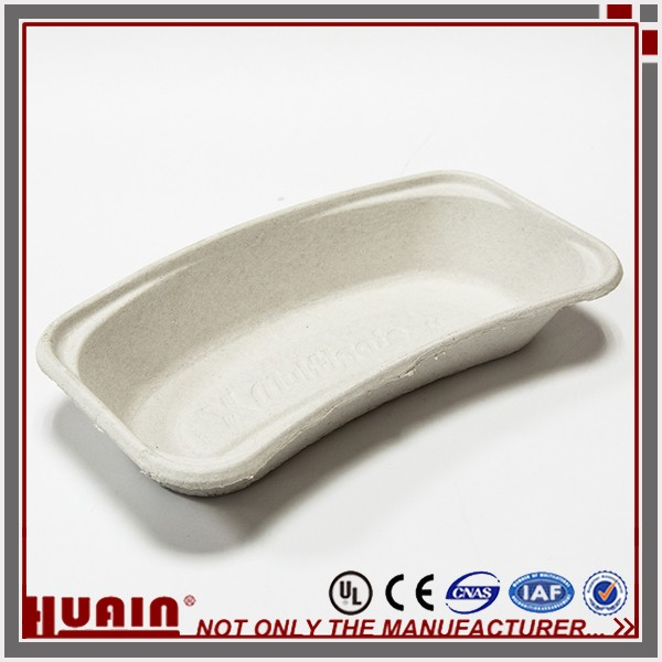 Cheap Price Recycled Paper Pulp Moulded Kidney Tray