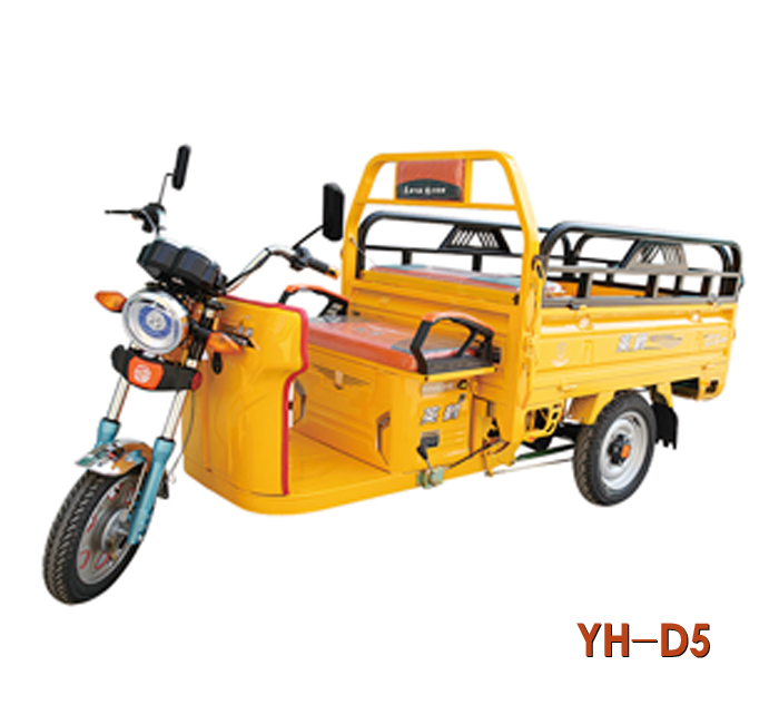 2017 hottest YH-D5 48V 800w cargo electric tricycle/cargo auto rickshaw/electric tricycle for sale in China