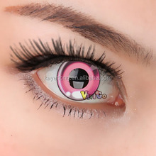 CL277 ANIME PINK dolly eye look soft contact lens cosplay eyewear
