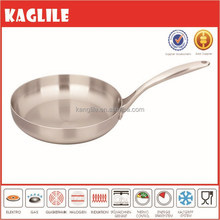 Modern kitchen design stainless steel polish cookware frying pan saute
